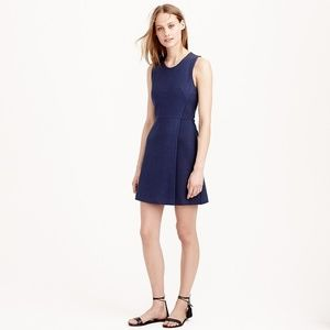 J.CREW Mesh wrap dress Navy Blue 8 M Sleeveless